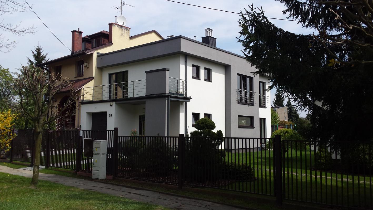 Dom w Łodzi